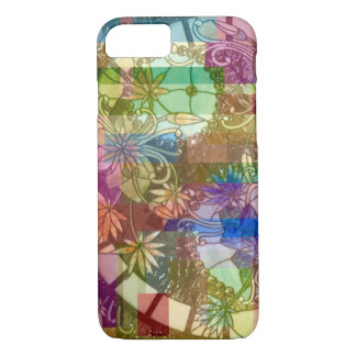 Stained Glass Collage Abstract iPhone 7 Case