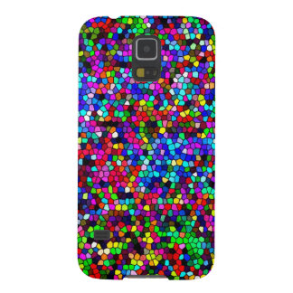 Stained Glass Colors Mosaic Galaxy S5 Cover