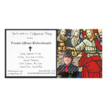 Stained Glass Confirmation Party Invitation Picture Card