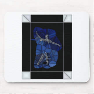 Stained Glass Dancer Mousepads