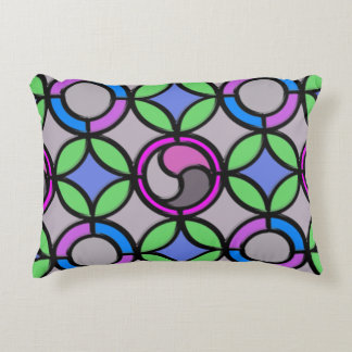 Stained Glass Decorative Cushion