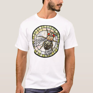 Stained glass drosophila (fruit fly) T-Shirt