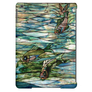 Stained Glass Fish-Tiffany-Barely There iPad Air Case For iPad Air