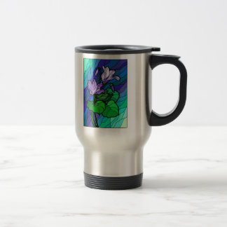 Stained Glass Flower Spray Mugs