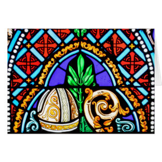 Stained Glass From France Greeting Card