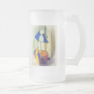 Stained-glass Frosted Glass Mug
