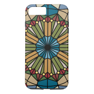 stained glass geometric pattern design modern iPhone 7 plus case