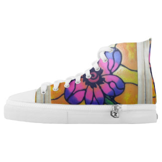 Stained Glass High Tops