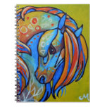 Stained Glass Horse 1 Notebook