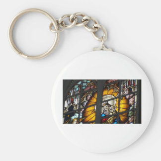 Stained Glass Jesus and Virgin Mary Key Chains