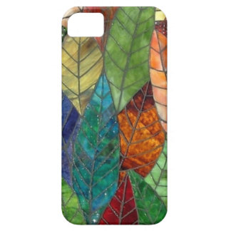 Stained Glass Leaves iPhone 5/5S Case