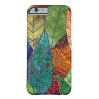 Stained Glass Leaves iPhone 6 case Barely There iPhone 6 Case