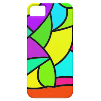 stained glass looking phone case cover for iPhone 5/5S