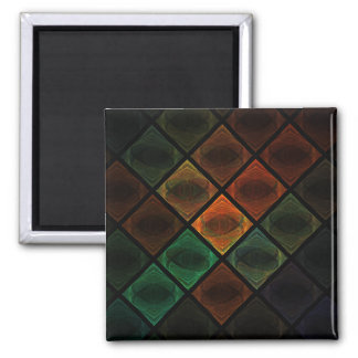 Stained Glass Refrigerator Magnets