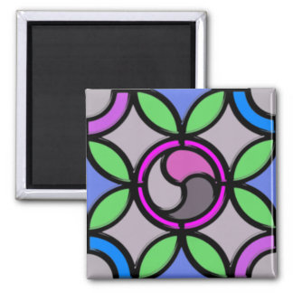 Stained Glass Magnet
