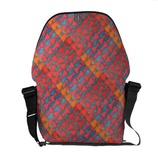 """""""Stained Glass"""" Messenger Bag All sizes"""