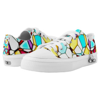 Stained Glass Mosaic Design Sneaker