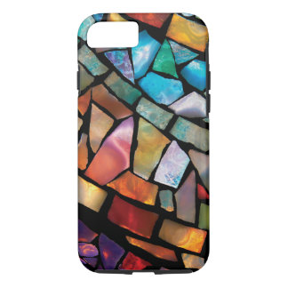 Stained Glass Mosaic Fiesta Fun iPhone 7 Case