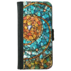 Stained Glass Mosaic iPhone 6 Wallet Case