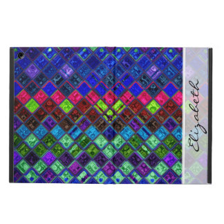 Stained Glass Mosaic Pattern Cover For iPad Air