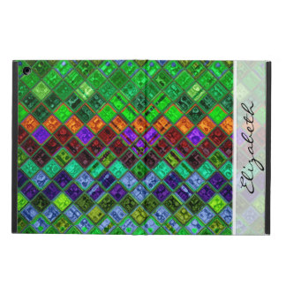 Stained Glass Mosaic Pattern iPad Air Cover