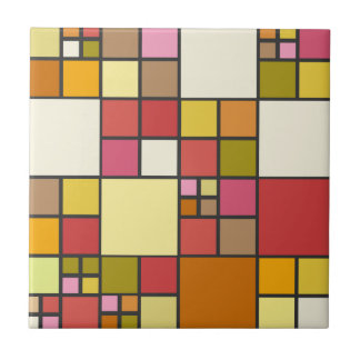 Stained Glass Mosaic Pattern Kitchen Bathroom Tile