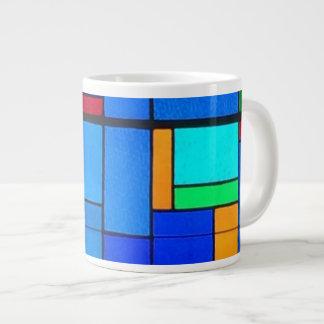Stained glass mug