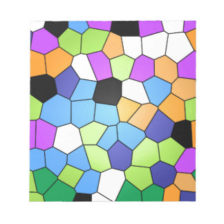 Stained Glass Notepad