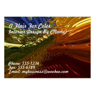 Stained Glass Pack Of Chubby Business Cards