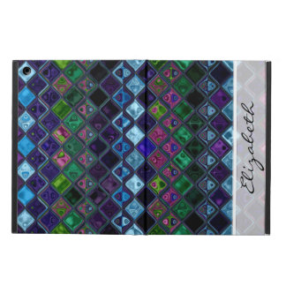 Stained Glass Pattern #10 Cover For iPad Air