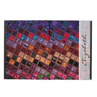 Stained Glass Pattern #4 iPad Air Cases