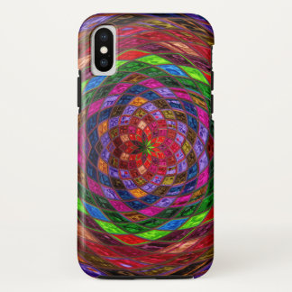 Stained Glass Pattern iPhone X Case