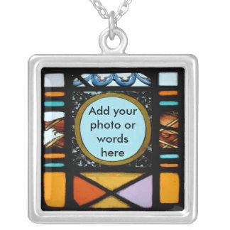 Stained-Glass Photo Necklace