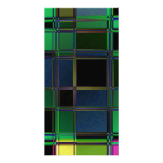 Stained Glass Photo Card