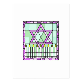 Stained Glass Postcard
