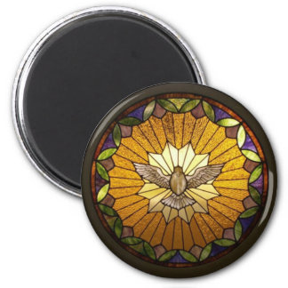 Stained Glass Prints 6 Cm Round Magnet