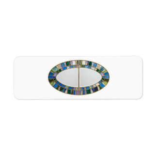 Stained-glass Return Address Label