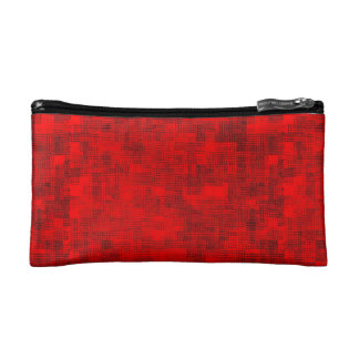 Stained-Glass Scarlet Cosmetics Bags
