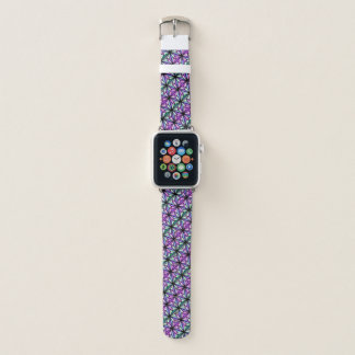 Stained Glass Stars Apple Watch Band