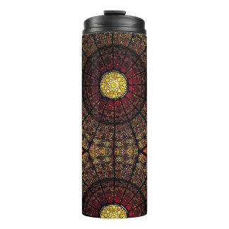 Stained Glass Thermal Tumbler