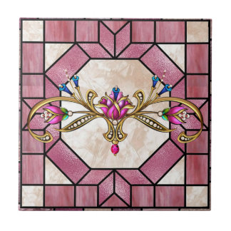Stained Glass Tile Design - SRF
