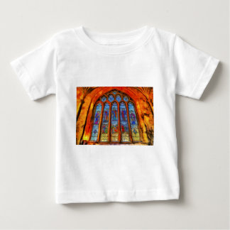 Stained Glass Van Gogh Baby T-Shirt
