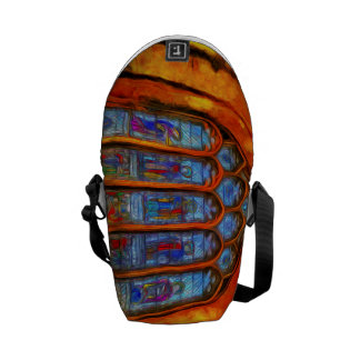Stained Glass Van Gogh Commuter Bag