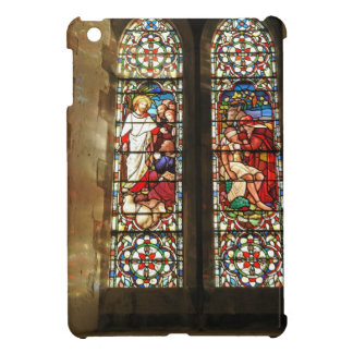 Stained glass window iPad mini cover