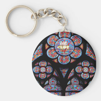 Stained Glass Window Keychain