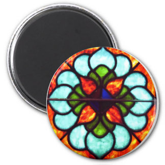 Stained Glass Window Fridge Magnets