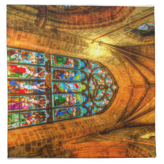 Stained Glass Window Napkin