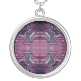 Stained Glass Window Necklace