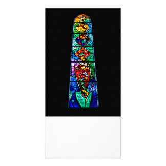 Stained Glass Window Photo Card Template