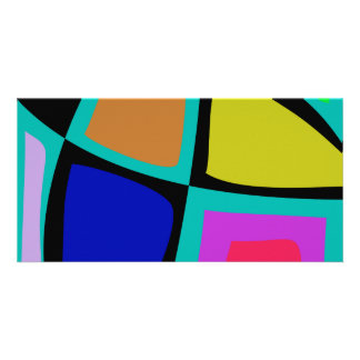 Stained Glass Window Customized Photo Card